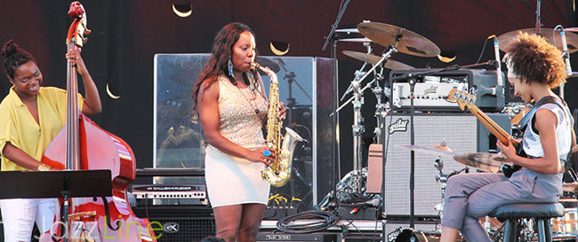 Clearwater Jazz Holiday - Tia Fuller