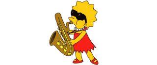 The Simpsons - Lisa Saxophone