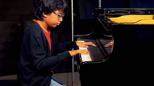 12-Year-Old Pianist Joey Alexander Receives Standing Ovation At 2016 Grammys