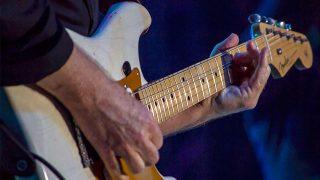 Onnie McIntyre of Average White Band on Guitar. Photo © David La Rosa.