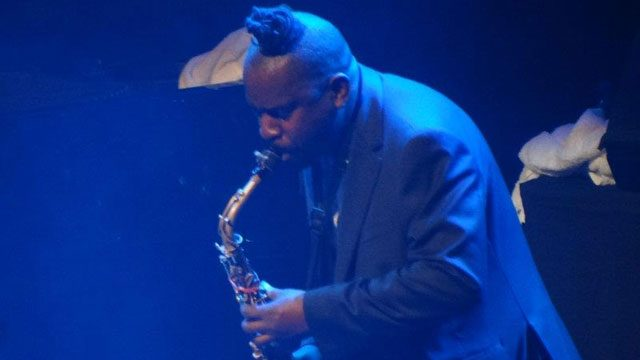 Jason Yarde performing at the 2011 London Jazz Festival